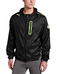 Puma Men's Evospeed Performance Jacket, Black/Dark Shadow, Large