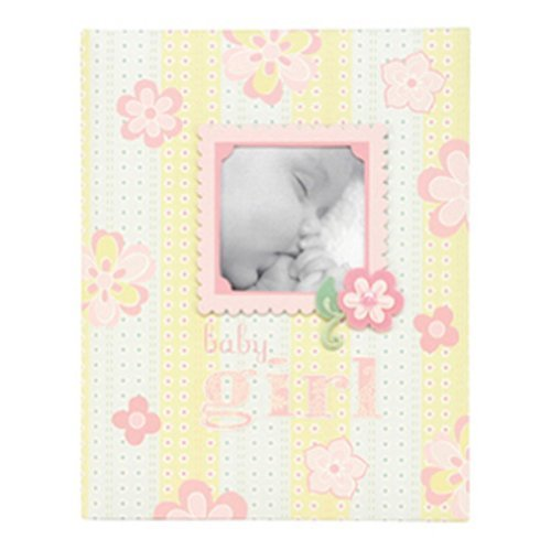 - C.R. Gibson First Five Years Girl Memory Baby Book, 64pgs, 10'' W x 11.75'' H (Lulu)