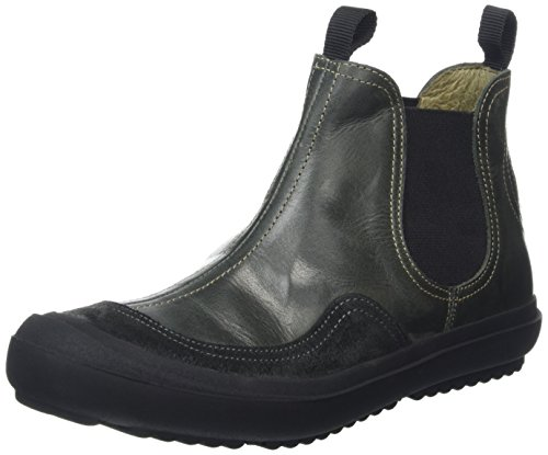 FLY London Malm243fly, Botas Chelsea para Mujer Negro (Diesel/anthracite 001)