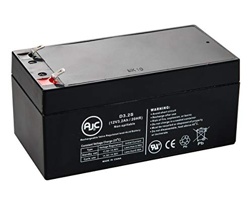B&B BP3.6-12 Sealed Lead Acid - AGM - VRLA Battery - This is an AJC Brand Replacement