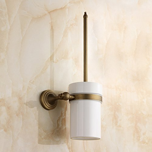 HYP-European copper antique toilet brush by HYP Bathroom supplies