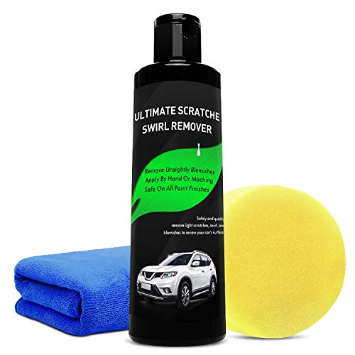 Manelord Scratch Remover – Car Scratch Remover with Car Care Cloth, Sandpaper for Scratch Removal, Car Polish & Paint Restorer – Scratch Removal for Cars