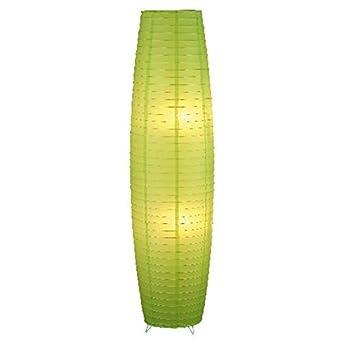 Moderne Stehleuchte In Grn 2x E27 Bis 40 Watt 230V Stehlampe Aus Metall Papier Wohnzimmer
