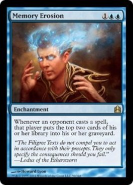 (Magic: the Gathering - Memory Erosion - Commander)