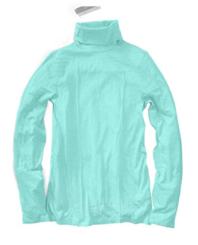 J. Crew - Women's Slim Fit - Tissue Turtleneck T-Shirt (Small, (Crew Tissue)