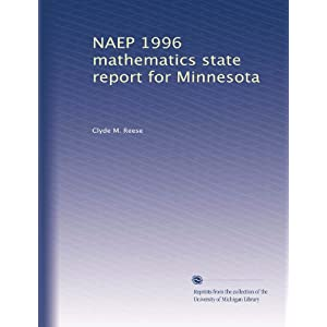 NAEP 1996 mathematics state report for Alabama Clyde M. Reese