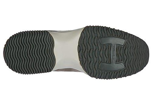 Scarpe Da Sneakers Interactive Donna Hogan Ginnastica Camoscio In Beige aEEqtw6