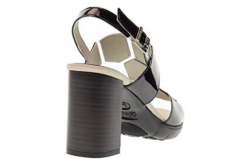 Chaussures À Femme Callaghan Talons Noir Sandales 21206 Black De fwqgB