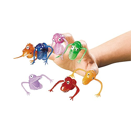 Fun Express - Vinyl Finger Puppets (6dz) - Toys - Character Toys - Finger Puppets - 72 Pieces