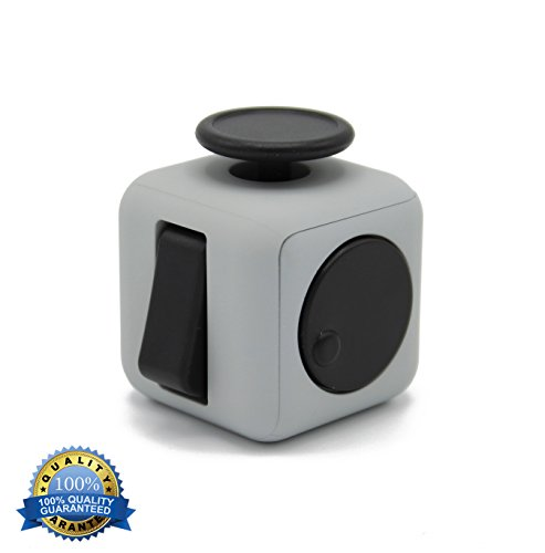 Generic Color Fidget Cube Relieves Stress & Anxiety for Children Toy -