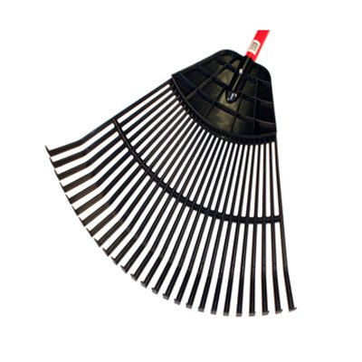 Bully Tools 92624 24'' Poly Leaf Rake - Quantity 3