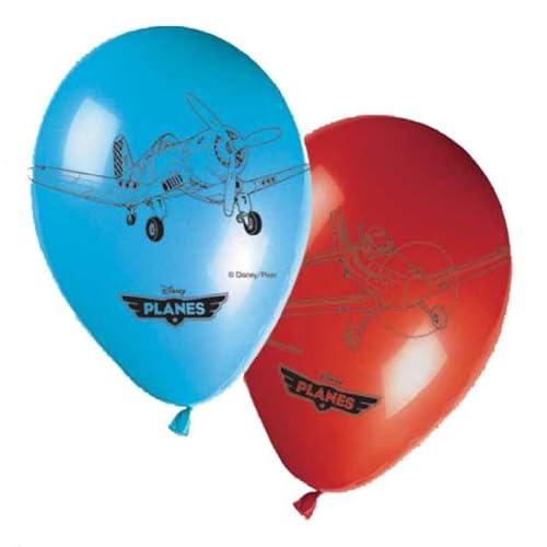 Générique 8 Ballons Imprimés Planes