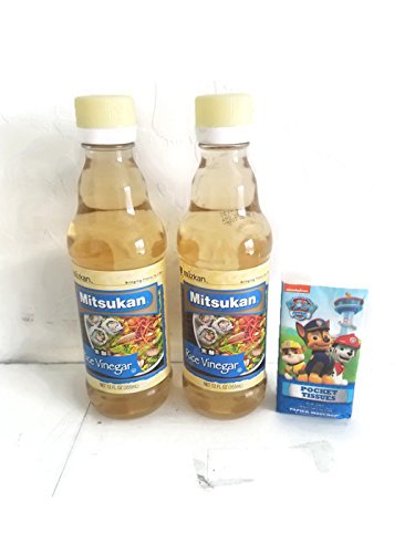 Mitsukan Rice Vinegar 12 oz (Pack of 2) plus tissues pack by Mitsukan