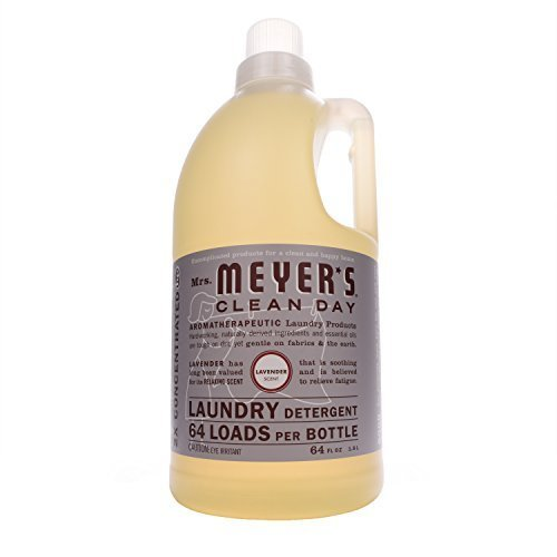 Mrs. Meyer's Clean Day Laundry Detergent, Lavender, 64 oz, 64 loads-2 pk