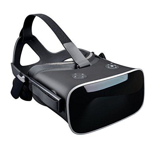 VR All in one 3D Glasses Virtual Reality Headset Integrated,5.5 Inches 2K display Adjustable 3D Private Theater for Movie and Games with Qkfly (No Need Phone)