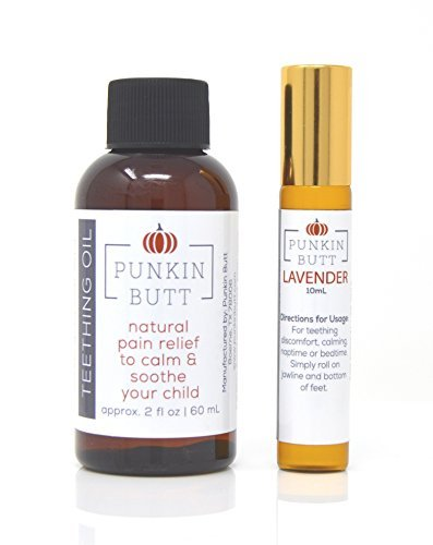 Punkin Butt Teething Oil Bundle with Lavender Soothing Oil