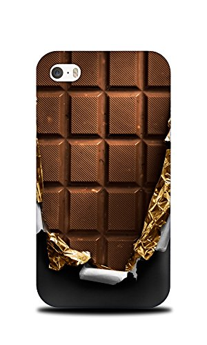 Foxercases Design Chocolate Candy Bar Hard Back Case Cover for Apple iPhone 4/4S