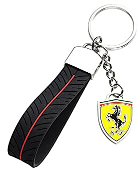 Llavero Ferrari Tyre Strap: Amazon.es: Coche y moto