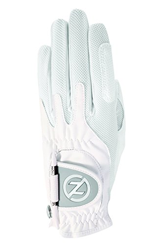 Zero Friction Women's Right Hand One Size Golf Glove  - White (Center Hand Right)