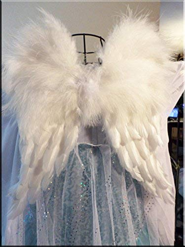 Angel Wings Costume Prop Free Halo Sale Baby angel Newborn to Toddler Choose size and color]()