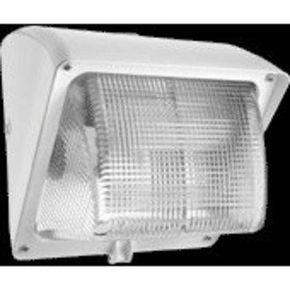 WALLPACK 50W HPS 120V NPF Glass Lens + LAMP White