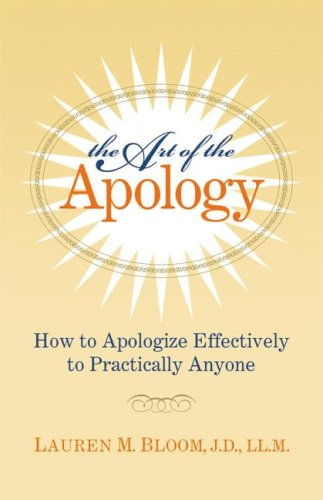 Read Online The Art of the Apology pdf epub
