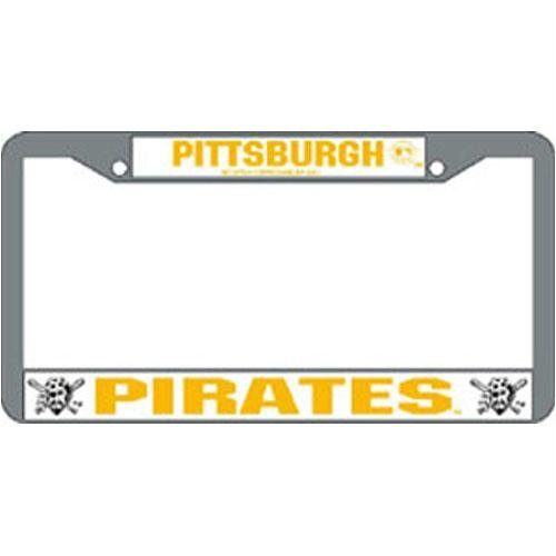 - Pittsburgh Pirates MLB Chrome License Plate Frame
