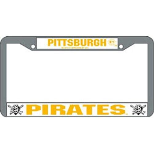 Pittsburgh Pirates MLB Chrome License Plate Frame
