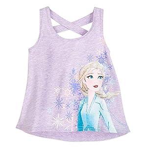 Disney Frozen 2 Elsa Racerback Tank Top for Girls
