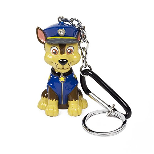 Nickelodeon Paw Patrol Chase Blue Resin Dangle Keychain in Acetate - Acetate Resin