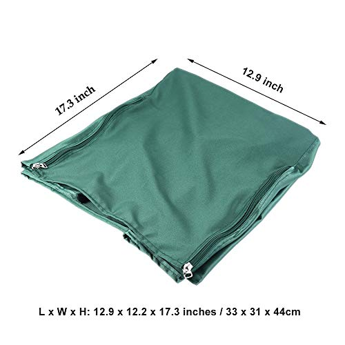 7c04d6c1aa10 SYOOY Universal Bird Cage Cover Shade Windproof Cloth Green 12.9