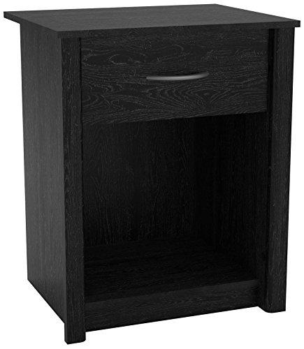 Nightstand Ash Bedroom (Altra Rockbridge Night Stand, Black Ebony Ash)