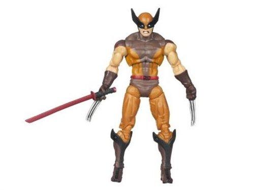 Comic Book Series X-Men Origins Wolverine Wolverine Action Figure Brown Suit Hasbro 0653569380771