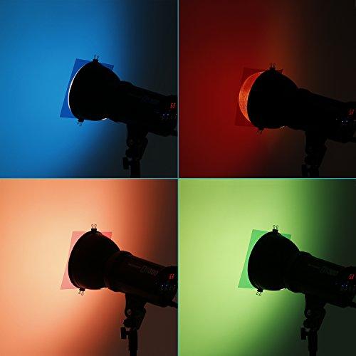 """Neewer 7""""x8""""/18 x 20 cm Transparent Color Correction ..."""