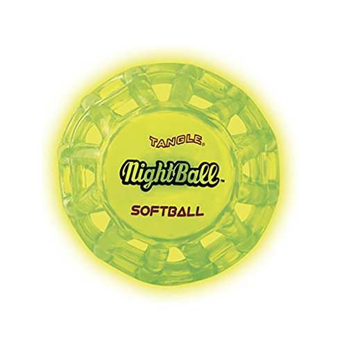 Tangle NightBall Glow in the Dark Light Up LED - In To Dark Make How The Glow