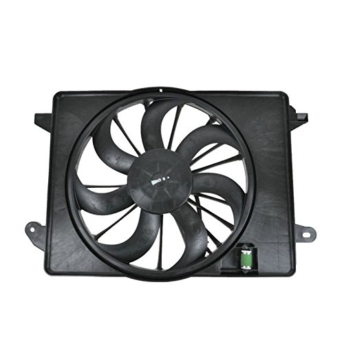 Radiator Cooling Fan Assembly for Dodge Charger Challenger Chrysler 300 AM Autoparts