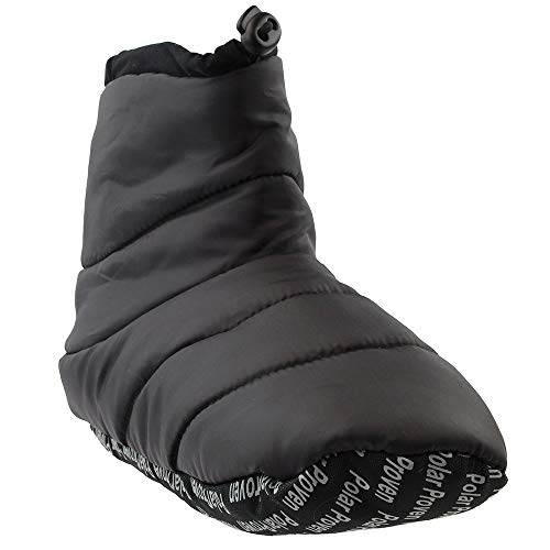 Baffin Unisex Cush Insulated Slipper Booty (XX-Large M, Charcoal)