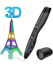 Aerb Intelligent 3D Pen with LED Display,USB Charging, 8 Speed Printing&Temperature Control, Interesting Gifts for All Age