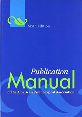American Psychological Association (Author) (4200)  Buy new: $29.95$23.35 186 used & newfrom$10.48