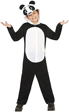 Atosa-24383 Disfraz Panda, Color Negro, 10 A 12 Años (24383 ...