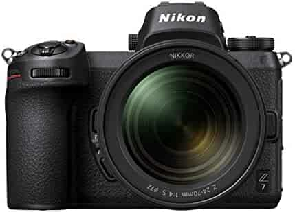 Nikon Z7 FX-Format Mirrorless Camera Body w/  NIKKOR Z 24-70mm f/4 S