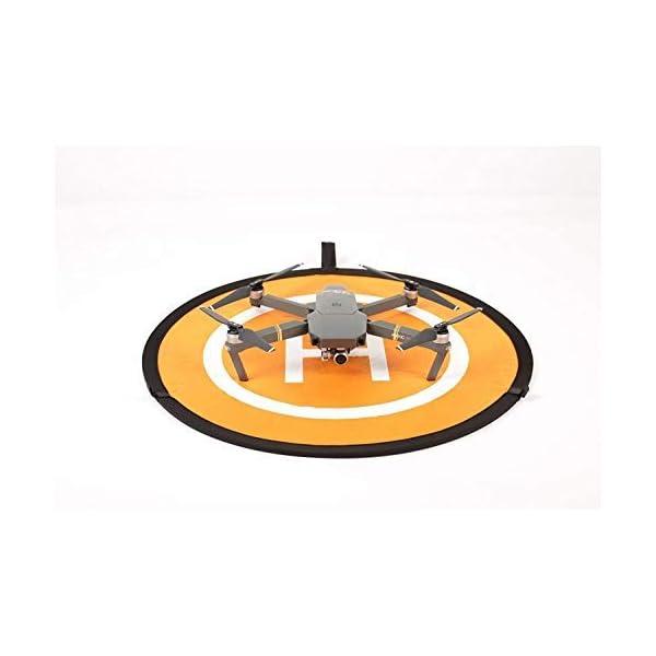 KINGWON 55cm Drone Landing Pad Pieghevole Impermeabile pour DJI Mavic PRO, DJI Mavic Air, DJI Spark, DJI Tello,diamètre de 21,65 pouces 7 spesavip
