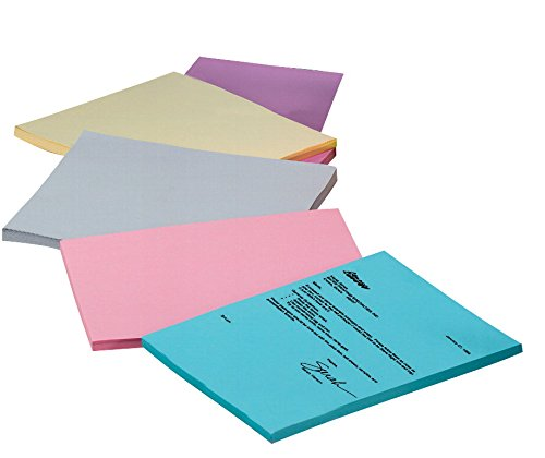 Pacon Acid-Free Multi-Purpose Bond Paper, 8-1/2 x 11 Inch, 20 lb, Assorted Pastels, Pack of 100