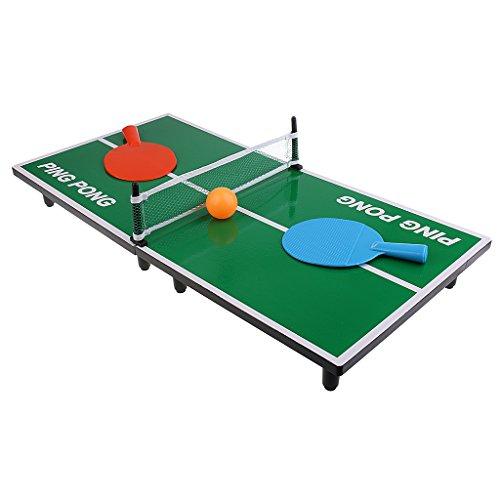 Lovoski クラシック ミニ デスクトップ 卓球ゲーム おもちゃ 子供 ピンポン ボードゲーム