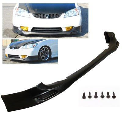 04-05 Honda Civic JDM PU Front Body Bumper Lip Kit Spoiler