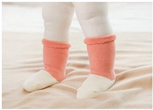 Et Chaussons Couleur Chaud Chaussettes Bloc Mignon Epais Terry fille Bébé 3 Ahatech Enfant Paires Unisexe n78YZqff