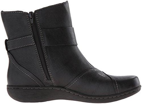 Fianna Women's Adley Brown Boot Leather Black Clarks 5qT15