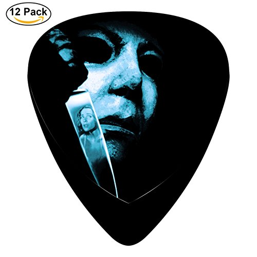 Michael Judith Movie Knife Guitar Picks Plectrum Electric Acoustic Guitar Bass Celluloid Pick Set (Halloween Michael Myers Judith)