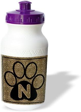 3dRose wb/_25947/_1 Water Bottle 21oz White