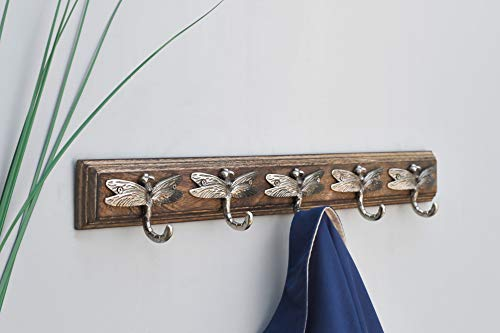Artisanal Creations 815060020567 Dragonfly Coat Rack, 5 Hook (Wall Hanging Dragonfly)